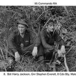 Bdr Harry Jackson and Gnr Stephen Everett, 8 Alma Bty. Malaya 1970