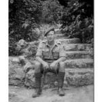 John Mavin No.2 Cdo. Alamedia Gardens, Gibraltar, 1943