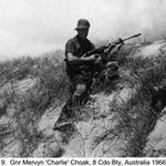Gnr. Mervyn 'Charlie' Choak, 8 Bty Australia 1966