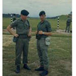 LBdr's Harry Jackson and T. Whytelock, 8 Bty Singapore 1968