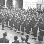 43RM Commando on parade at Dubrovnik -1
