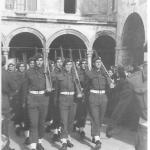 43RM Commando on parade at Dubrovnik -2