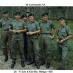 A Sub 8 Bty Malaya 1966