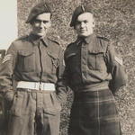 L/Sgt. Joe Rogers and Cpl. Cyril Lima