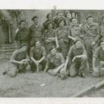 At the barracks in Recklinghausen 1945
