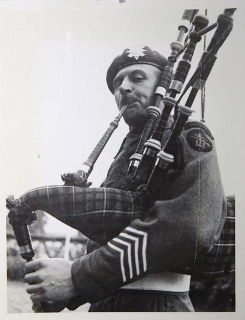 Pipe Major T.A. Maclauchlan
