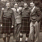 Sid Murdoch, Tom McCormack, Ken McAllister and Bill Hughes