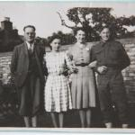Ken McAllister with Tom McCormack's sister Josie