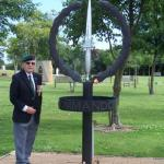 Billy Moore, No5 Cdo, at The CVA Memorial