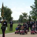 The Veterans parade