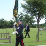 Fred Davies parades The CVA Standard