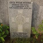 Sergeant Cecil Wylie Foster