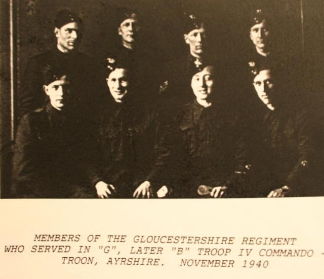 Glosters who served in 'G' troop (later  'B' tp)