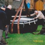 Installing 'Commandos in Lochaber' stone 1