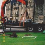 Installing 'Commandos in Lochaber' stone 2