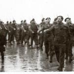 March past of the of the Commandos of the CMWTC at St Ives 1945