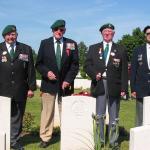 Geoff Scotson, Bill Kingsmore, Gordon Flemming, Harry Bell