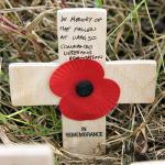 Cross from CVA at Trondheim (Stavne) Cemetery