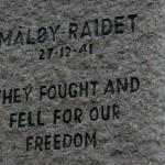 Maloy memorial 1