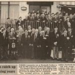 50th anniversary of the formation of No.4 Cdo.(Newspaper cutting)