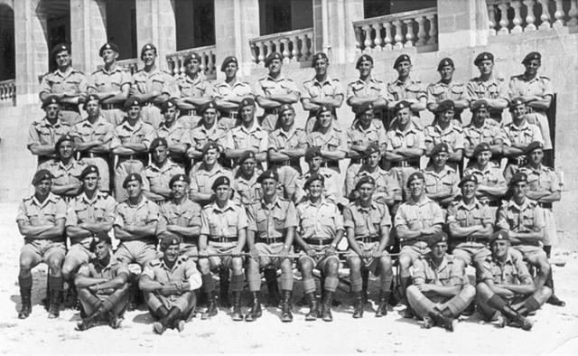 40 Commando RM, 'A' Troop, July 1949.