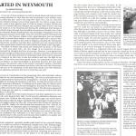 It all started in Weymouth by Major James Dunning