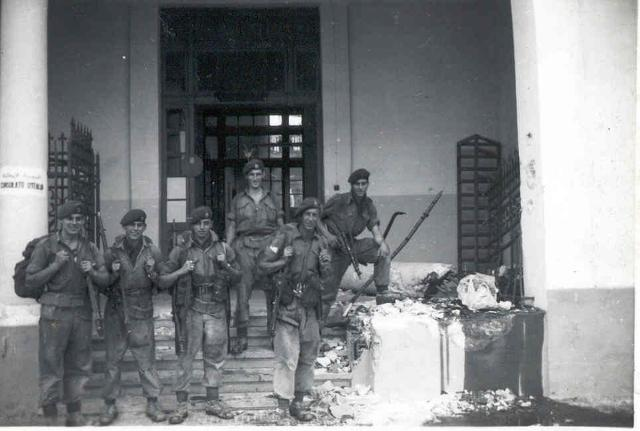 42 Commando RM   o/s the Italian Consulate Port Said  5th Nov.1956