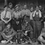 Early volunteers for No.4 Commando