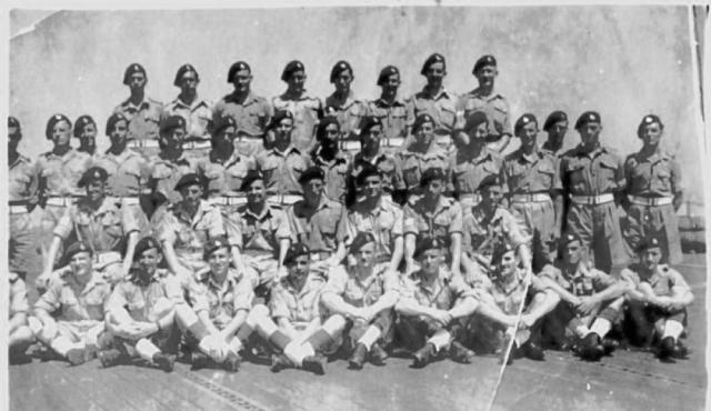 45 Commando RM  'B' troop circa 1946