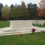 Bergen-op-Zoom War Cemetery November 2011.