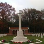 Bergen-op-Zoom War Cemetery 2011.