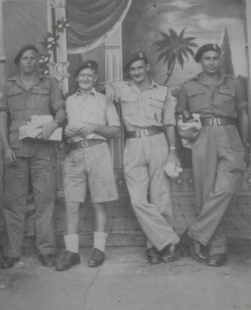 Harry Morrell and others from No.1 Cdo.