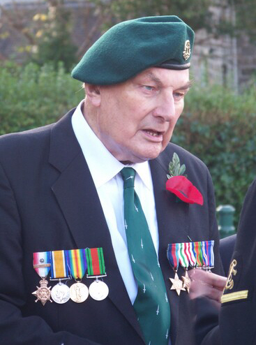 Jack Cox (No 12 and 3 Cdo) Remembrance Service 2011