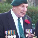 Jack Cox (No 12 and 3 Cdo) Remembrance Service 2011