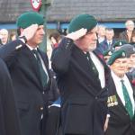 Dutch Commando Veterans laying their wreath