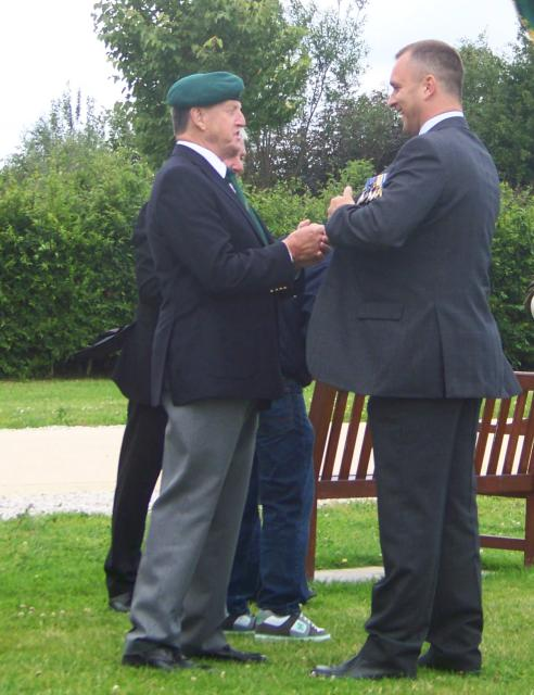 Fred Davies & Geoff Murray, CVA Memorial 2008.