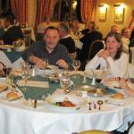 Bob and Kevin Bishop, Jack and Ria Bakker with Janet Bishop