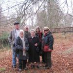 Bob and Janet Bishop, Arthur Moore, Vera Bartholomew, Jennie Barlow, Di Edwards