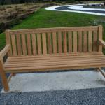 Bench donated by the CVA at the Area of Remembrance