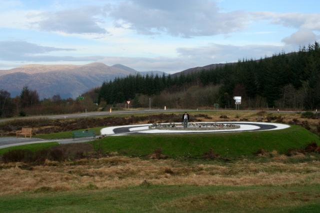 Commando Memorial Area of Remembrance Nov 2011