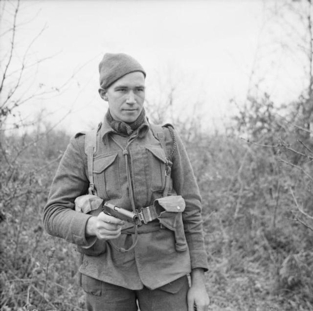 Pte. W. Stack   No.9 Commando at Anzio
