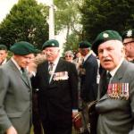 Lt. Col. Robert Dawson CBE DSO, Brig. Peter Young DSO MC, Henry Brown OBE