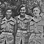 Rfn Geoff Hill, Pte Sid Lynn, Rfn Mick Collins -  India 1944.