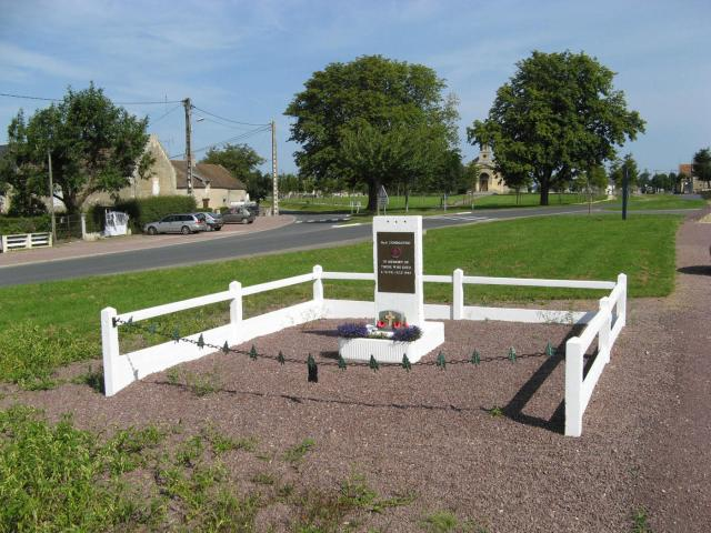No.6 Cdo Memorial at Le Plein Amfreville. August 2007.