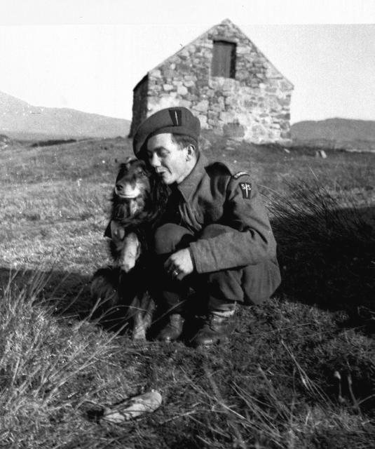 No.2 Commando (unknown)  1941 - one man and his dog