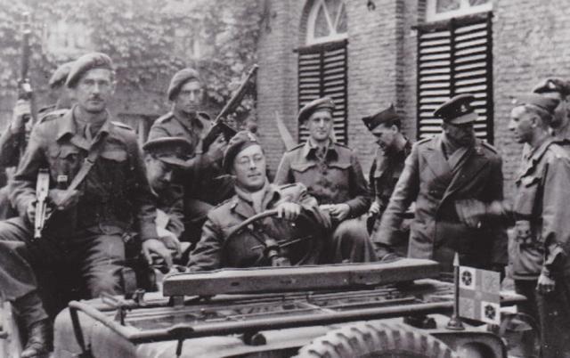 Prince Bernhard of the Netherlands' Dutch Commando bodyguard