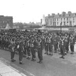 Troop Inspection No.2 Commando  at Wellington Square, Ayr 1941/2