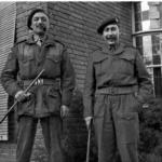 Maj Vicomte Arthur de Jonghe and Capt. Hugh R. Muir Beddall