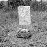 The original grave at Le Plein of Lance Corporal Norman Walter Cassey