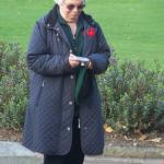 Janet Bishop at  Fort William War Memorial
